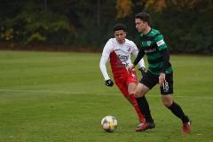 Testspiel Jong FC Utrecht - Preußen Münster (1:4). Dominik Klann am Ball.