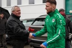 Auftakttraining beim SC Preußen Münster am 4. Januar 2020. Neuzugang Jan Löhmannsröben.