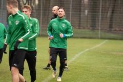 Auftakttraining beim SC Preußen Münster am 4. Januar 2020. Jan Löhmannsröben aktiv.