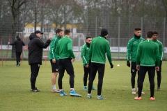 Auftakttraining beim SC Preußen Münster am 4. Januar 2020.
