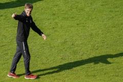 Oberliga Westfalen, 4. Spieltag: Preußen U23 gegen Westfalia Herne 2:0. U23-Trainer Sören Weinfurtner.