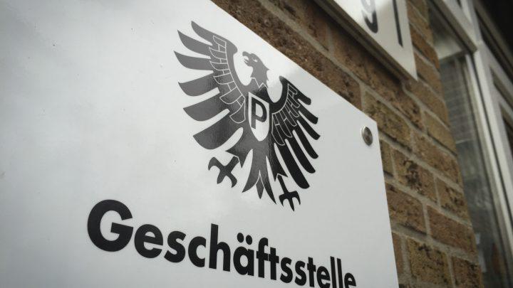 Geschäftsstelle des SC Preußen Münster.